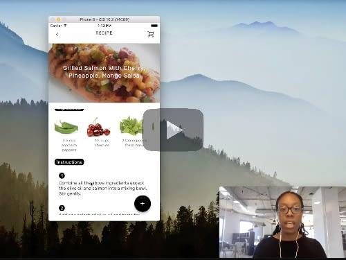 Nadia's Recipe App Demo